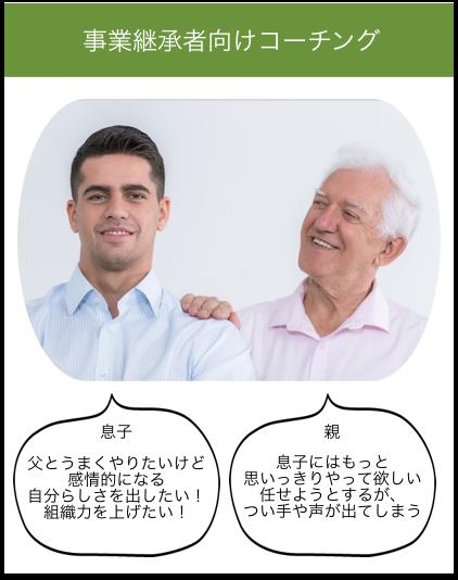 事業承継(事業後継者)向けコーチング