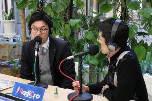 事業承継支援ラジオ番組「たくのつながりラジオ」番組MCは香西拓也。今回のゲストは、サンビー・株式会社 専務取締役 山本忠利さん。