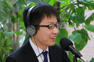 事業承継支援ラジオ番組「たくのつながりラジオ」番組MCはチームづくりコーチ香西拓也。今回のゲストは、有限会社扇屋 クラフト館 広報 今井 優さんです。
